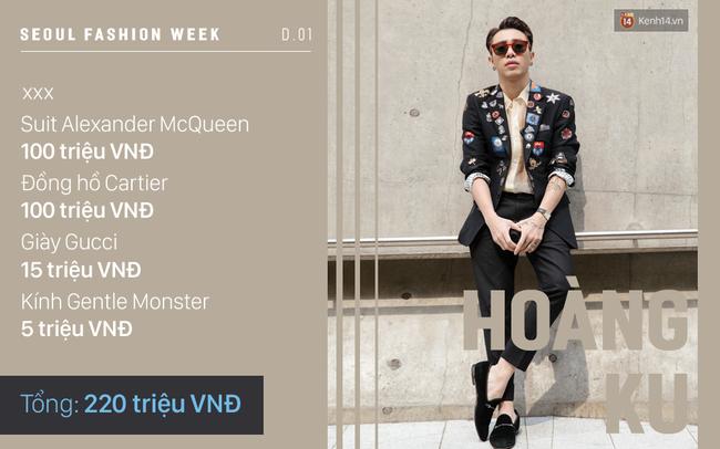 Seoul Fashion Week: Lên đồ nổi bật là thế nhưng hóa ra Sơn Tùng diện toàn đồ rẻ hơn hẳn các sao Việt khác - Ảnh 8.