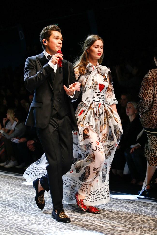 Lý Quí Khánh mang phong cách một mình một kiểu đến show diễn Dolce&Gabbana - Ảnh 17.