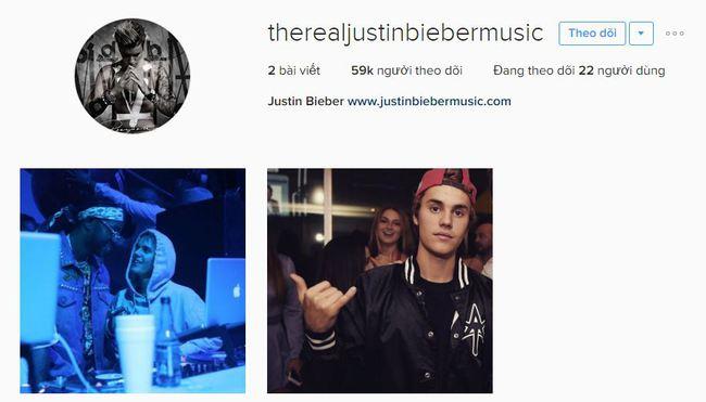 Justin Bieber đã trở lại Instagram nhưng không phải tài khoản 77 triệu người theo dõi trước đây! - Ảnh 1.