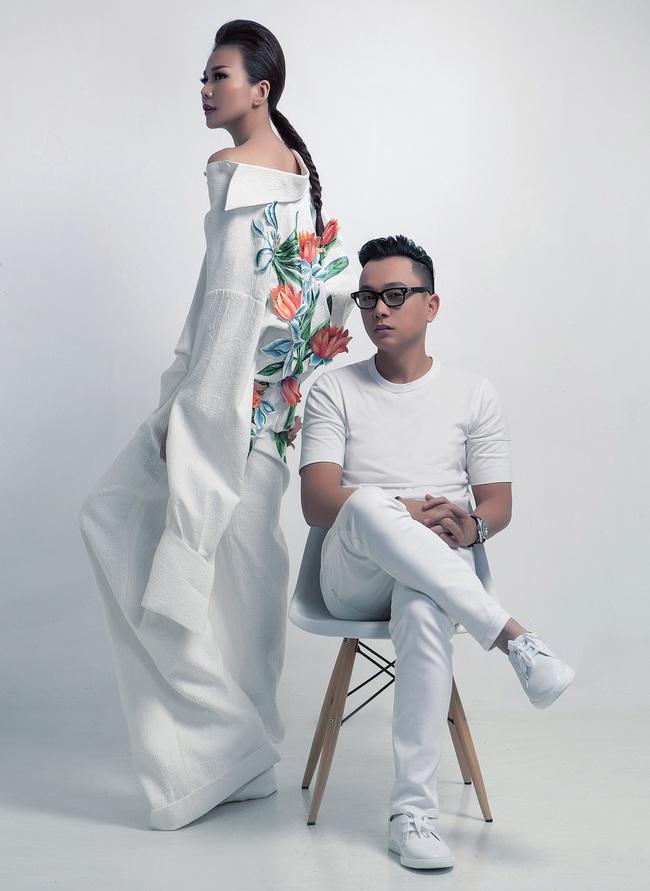 Siêu mẫu Thanh Hằng trở thành Em Hoa của NTK Công Trí! - Ảnh 8.