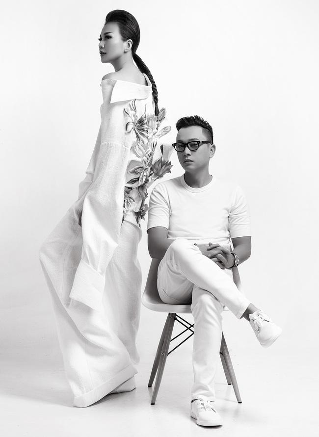 Siêu mẫu Thanh Hằng trở thành Em Hoa của NTK Công Trí! - Ảnh 12.