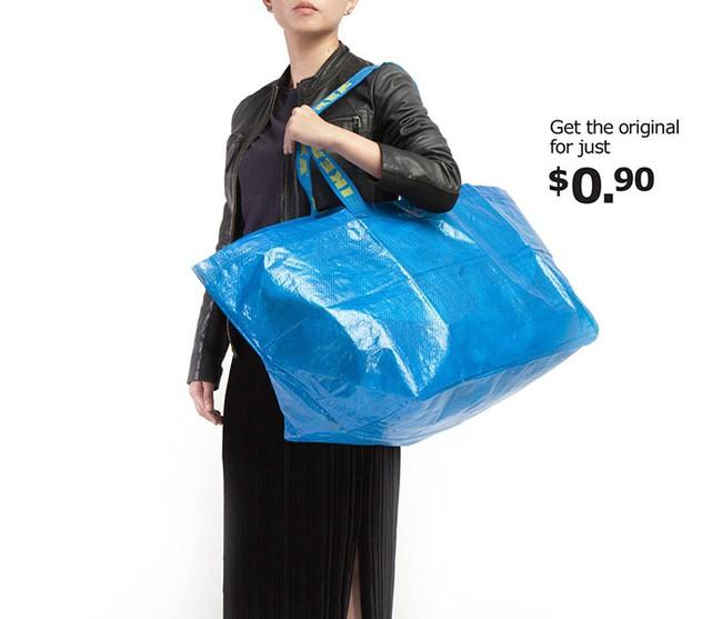 Thấy Balenciaga bán túi 50 triệu y chang túi 22 nghìn của mình, IKEA đã có màn đáp trả chất như thế này đây! - Ảnh 3.