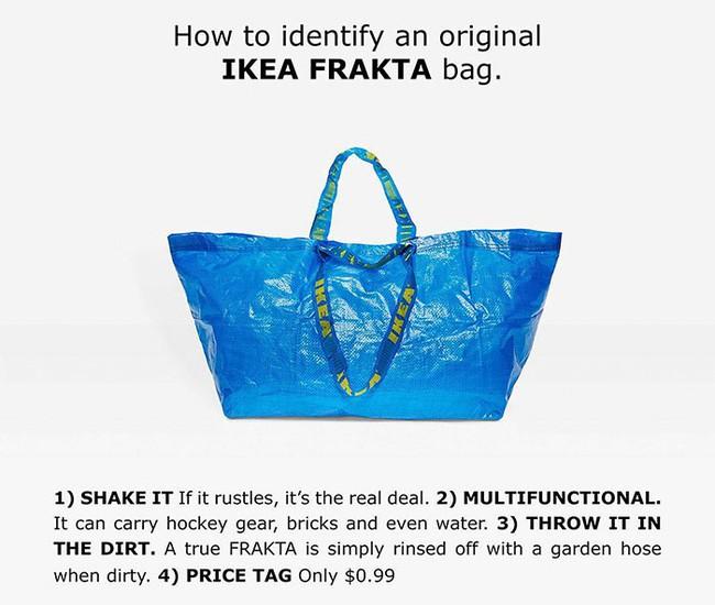 Thấy Balenciaga bán túi 50 triệu y chang túi 22 nghìn của mình, IKEA đã có màn đáp trả chất như thế này đây! - Ảnh 2.