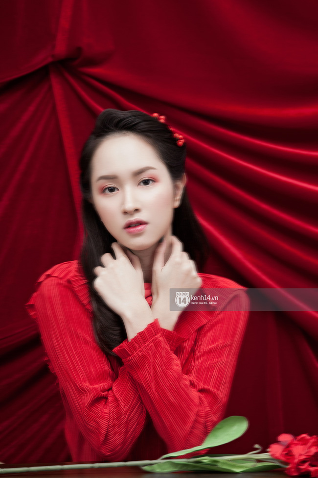 3 nàng hot girl Salim, Sun HT, Lê Vi xinh lạ trong những mẫu áo dài cách tân độc đáo - Ảnh 16.