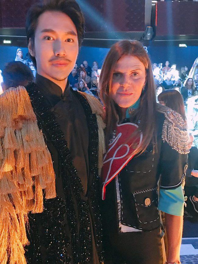 Lý Quí Khánh mang phong cách một mình một kiểu đến show diễn Dolce&Gabbana - Ảnh 6.