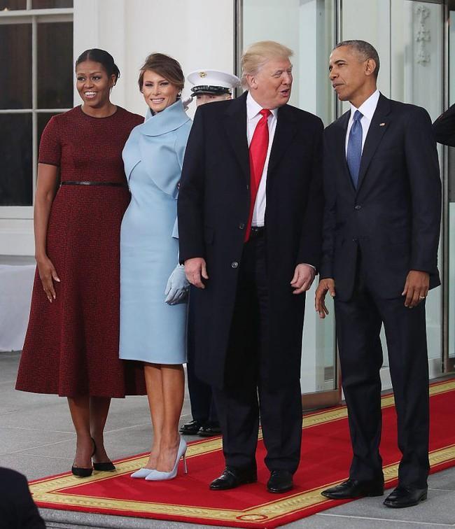 Trong lễ nhậm chức, bà Trump đã xào ngay phong cách thời trang của hai cựu Đệ nhất phu nhân! - Ảnh 5.