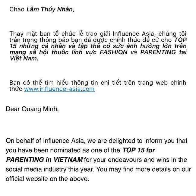 Salim, Sun HT... lọt Top nhân tố thời trang ảnh hưởng nhất mạng xã hội do giải thưởng Influence Asia chọn lựa - Ảnh 9.