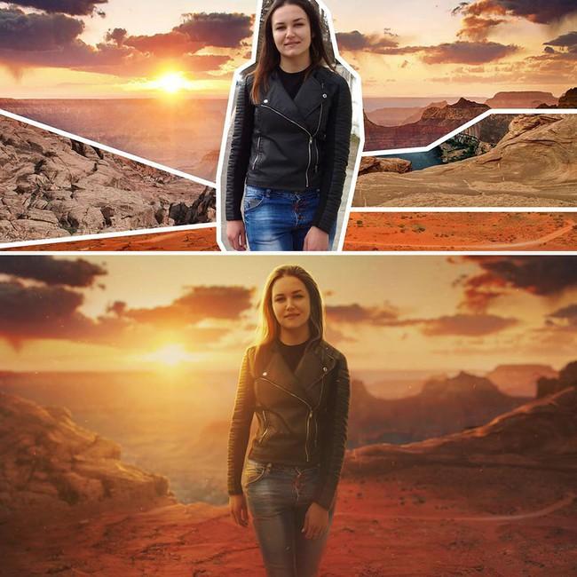 Phù thủy photoshop biến những bức ảnh bình thường trở nên ảo tung chảo - Ảnh 4.