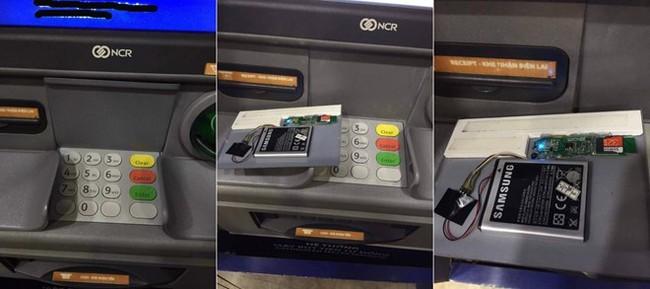 Lật tẩy chiêu trò đánh cắp tiền từ ATM ở TP.HCM - Ảnh 1.