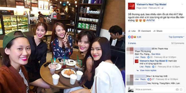 Vietnams Next Top Model bị tố lợi dụng hình ảnh cựu thí sinh để quảng bá chương trình - Ảnh 1.