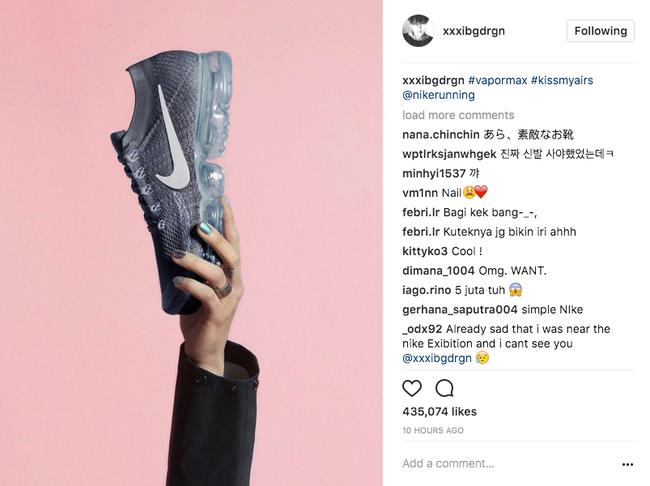 Không chỉ có G-dragon mà hàng loạt người dùng trên Instagram đều đang mê mệt đôi giày này! - Ảnh 1.