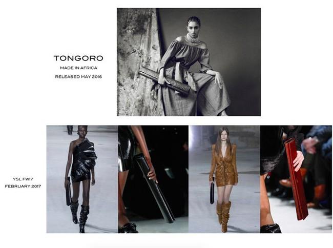 Hết Gucci, giờ đến lượt Saint Laurent bị tố là ăn cắp thiết kế túi xách - Ảnh 1.