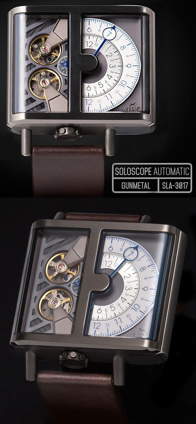 Ngắm chiếc đồng hồ hiện giờ chỉ bằng nửa con mắt cực sành điệu - Ảnh 2.