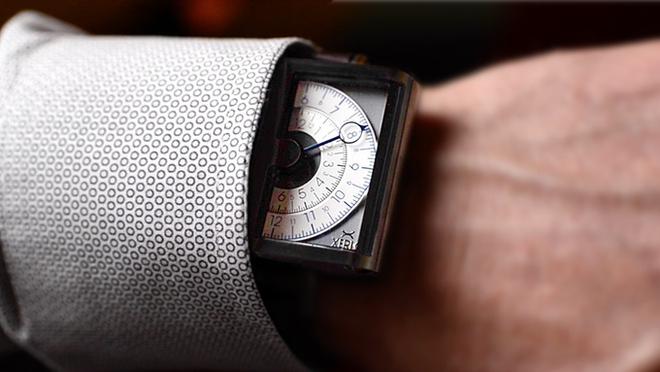 Ngắm chiếc đồng hồ hiện giờ chỉ bằng nửa con mắt cực sành điệu - Ảnh 6.