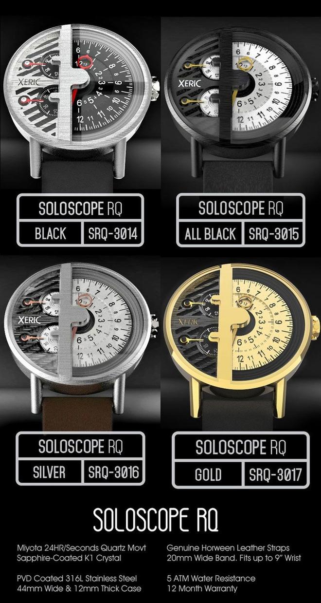 Ngắm chiếc đồng hồ hiện giờ chỉ bằng nửa con mắt cực sành điệu - Ảnh 8.