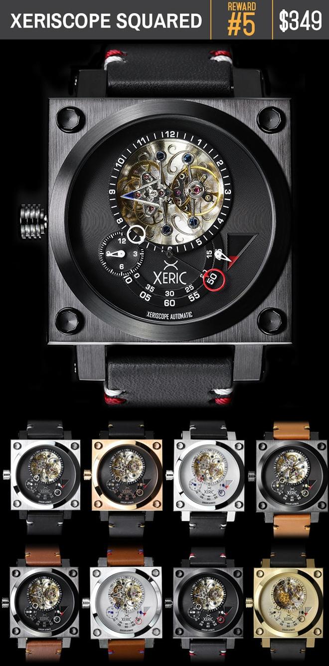 Ngắm chiếc đồng hồ hiện giờ chỉ bằng nửa con mắt cực sành điệu - Ảnh 9.
