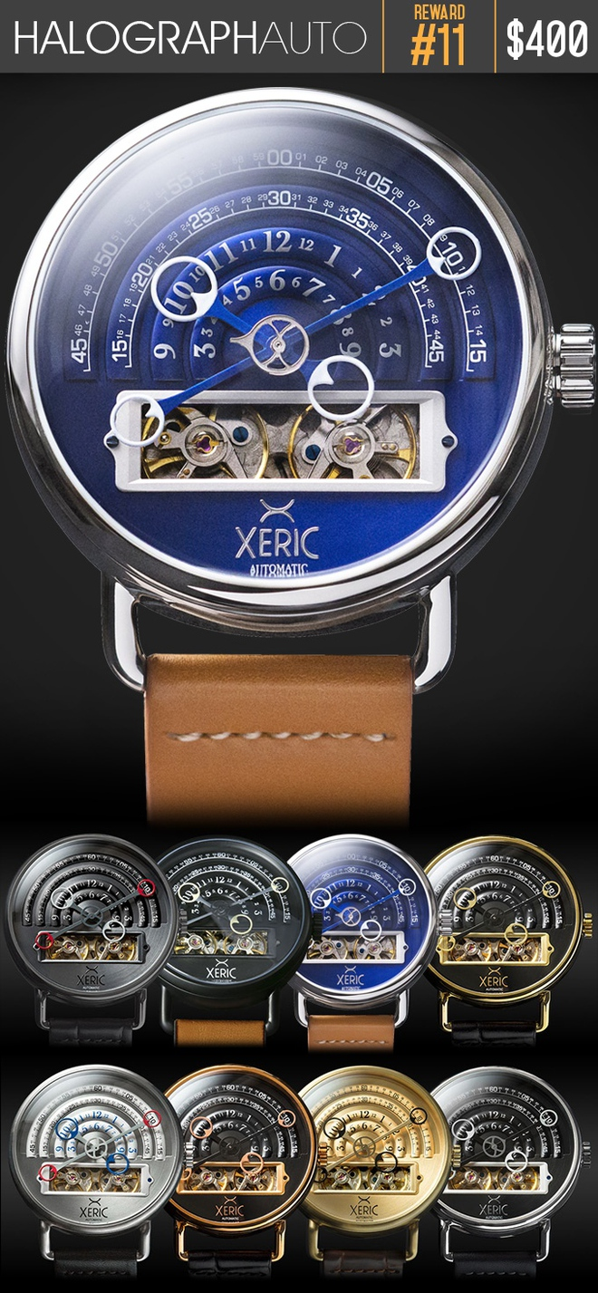 Ngắm chiếc đồng hồ hiện giờ chỉ bằng nửa con mắt cực sành điệu - Ảnh 10.