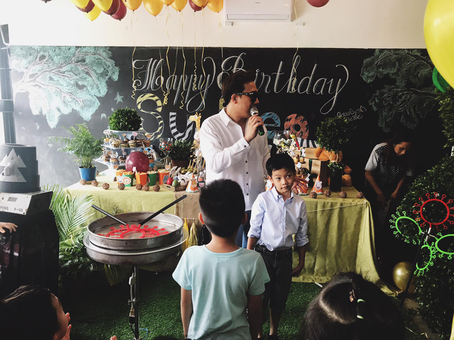 Cường Đô La, Hồ Ngọc Hà cùng nhau mừng sinh nhật Subeo - Ảnh 3.