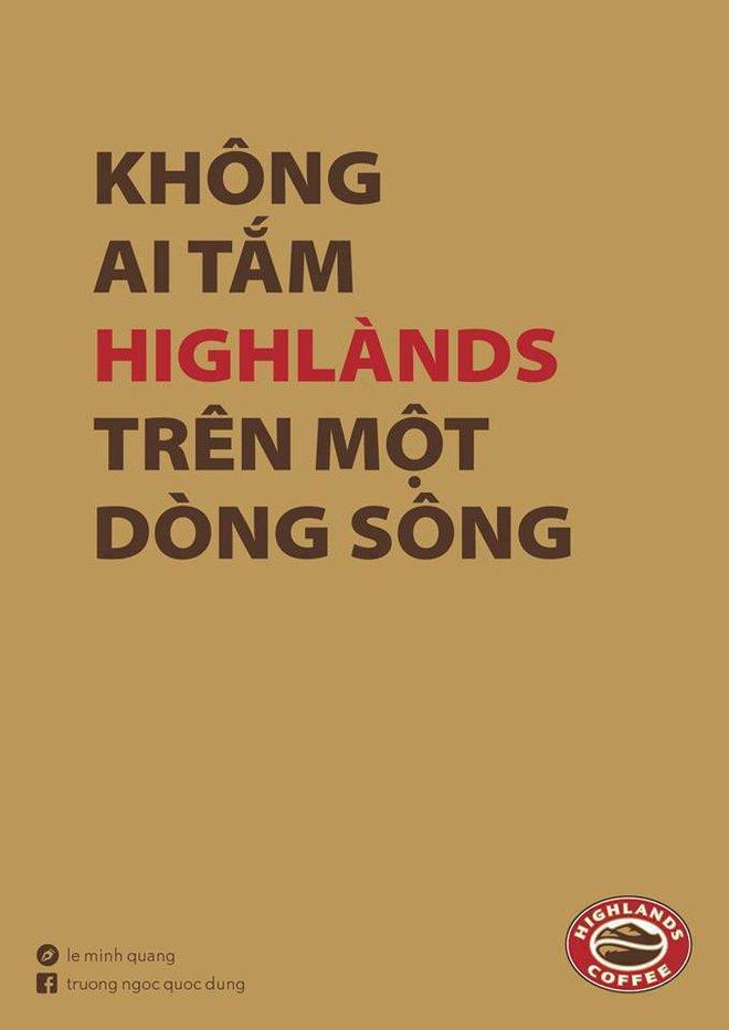 """Không ai tắm """"highlands"""" trên một dòng sông"""