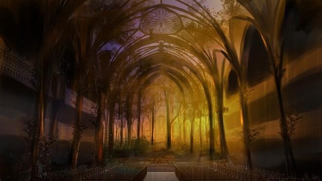 Màn trình diễn ánh sáng ngoạn mục biến nhà thờ thành xứ sở thần tiên - Ảnh 19.