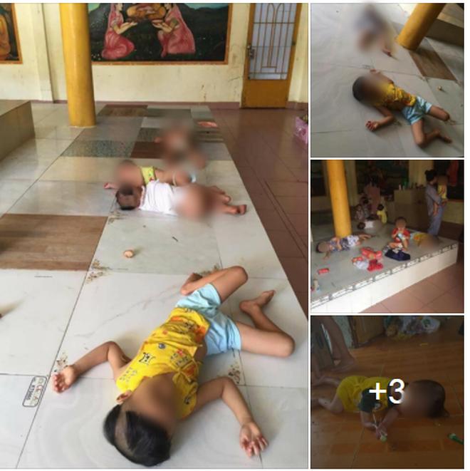 """Sư cô bị tố bỏ đói trẻ mồ côi, để các bé nằm ngủ trên nền nhà dơ bẩn: """"Ở Tịnh xá đầy đủ nhu yếu phẩm, chỉ thiếu bảo mẫu"""" - Ảnh 1."""