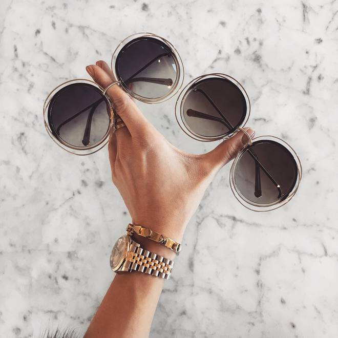 Hè này nếu định sắm kính, nhất định phải sắm kính tròn gọng kim loại cho bằng bạn bằng bè - Ảnh 16.