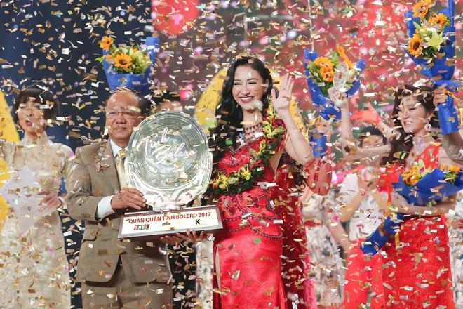 Trở về từ Miss Earth, Hà Thu xuất sắc lên ngôi Quán quân Tình Bolero - Ảnh 2.
