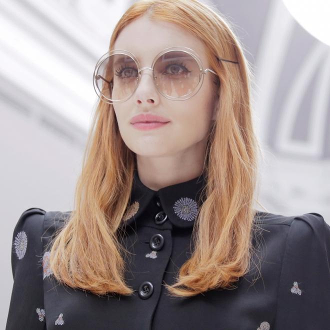 Hè này nếu định sắm kính, nhất định phải sắm kính tròn gọng kim loại cho bằng bạn bằng bè - Ảnh 17.