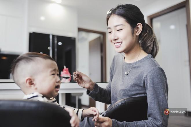 """""""Gia đình trong mơ"""" Trang Lou - Tùng Sơn: Có con là điều khó khăn nhất nhưng cũng hạnh phúc nhất! - Ảnh 6."""