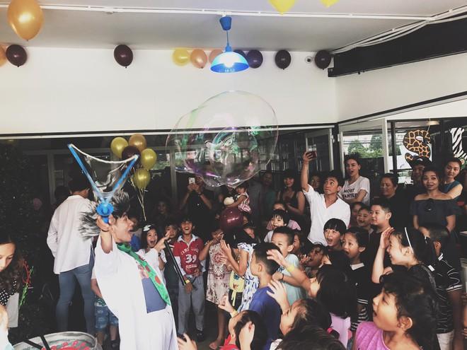 Cường Đô La, Hồ Ngọc Hà cùng nhau mừng sinh nhật Subeo - Ảnh 2.