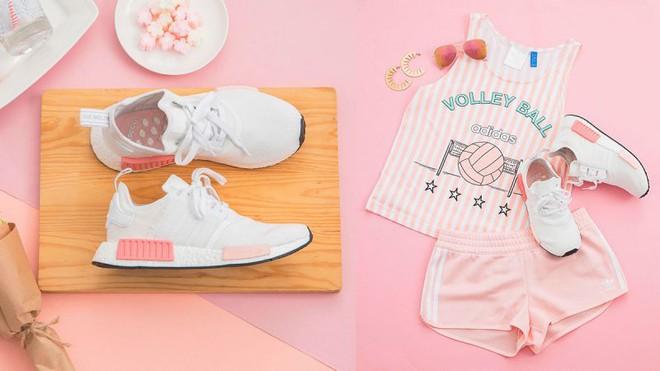 Nếu cho rằng mình đã chán sneaker hồng, bạn sẽ phải suy nghĩ lại khi thấy mẫu adidas NMD xinh đẹp quá đỗi này - Ảnh 2.