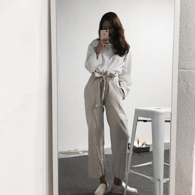 Ngay cả khi không thích quần vải, các cô nàng cũng sẽ đổ đứ đừ trước kiểu quần thắt nơ xinh xắn này - Ảnh 2.