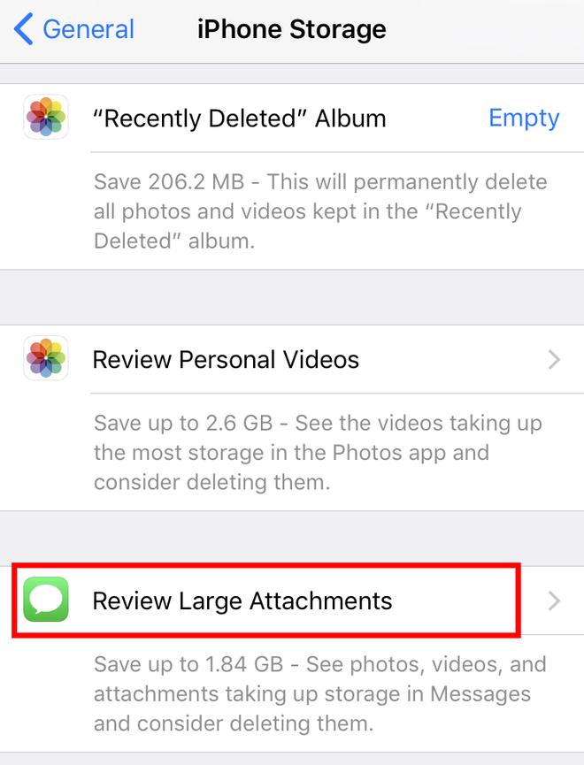 Dùng iPhone liên tục hết bộ nhớ thì phải biết ngay 4 bí kíp mới ít người biết này - Ảnh 2.