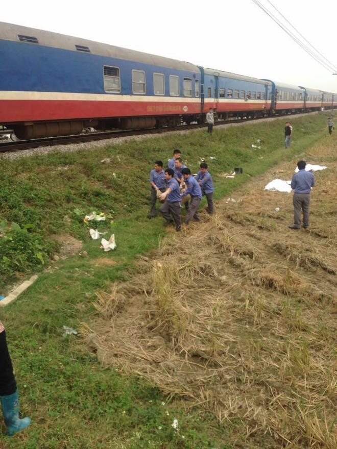 Hà Nam: Băng qua đường sắt không chú ý, 2 phụ nữ và một bé trai 10 tuổi bị tàu hỏa tông tử vong - Ảnh 1.