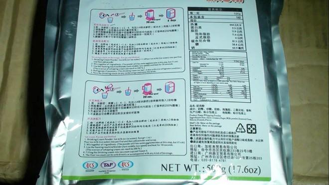 Hà Nội: Phát hiện 4 tấn trà sữa trân châu không rõ nguồn gốc chuẩn bị được chuyển vào Đà Nẵng - Ảnh 2.