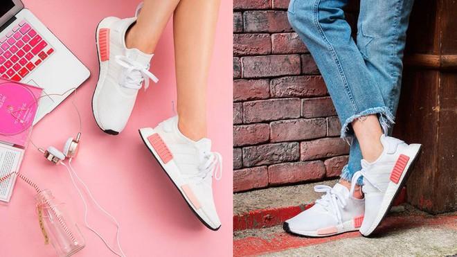 Nếu cho rằng mình đã chán sneaker hồng, bạn sẽ phải suy nghĩ lại khi thấy mẫu adidas NMD xinh đẹp quá đỗi này - Ảnh 3.