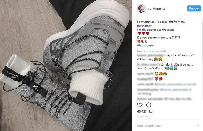 Đôi sneaker mới toanh Bitis vừa làm riêng tặng Sơn Tùng M-TP giống giày adidas đến bất ngờ - Ảnh 2.