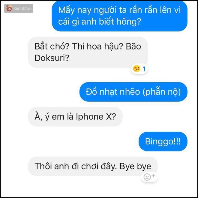 Bí kíp né thính khi cơn bão iPhone X đang hoành hành từ những anh chàng bạn trai siêu lầy lội - Ảnh 5.