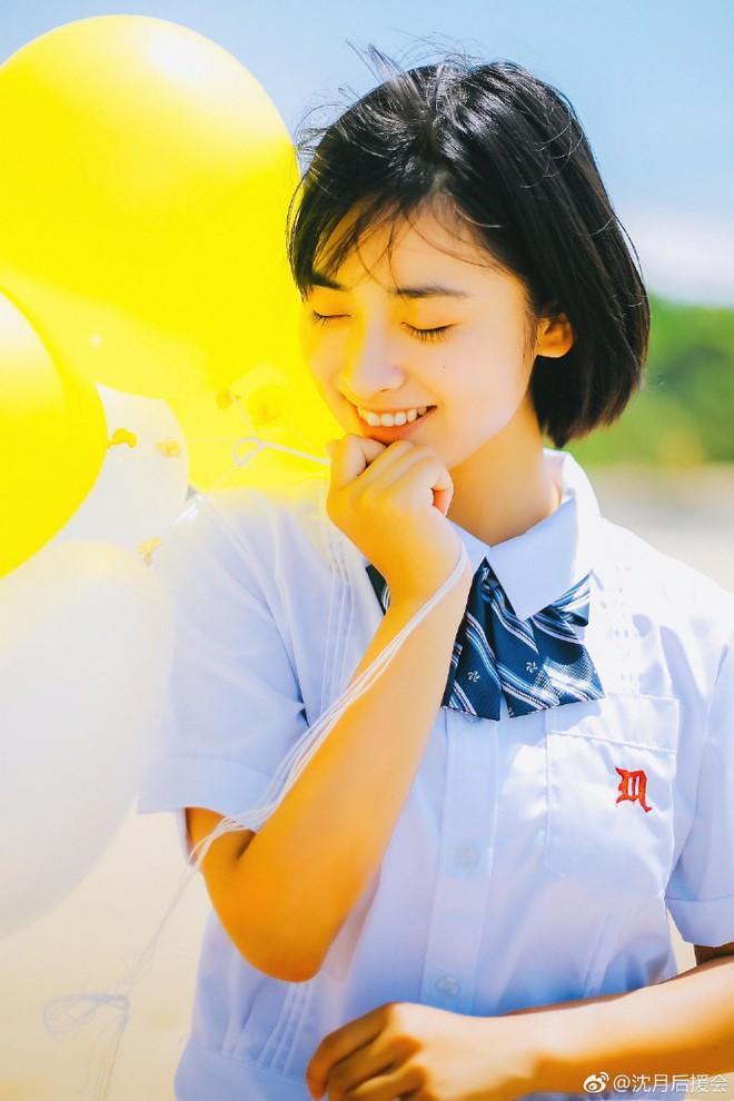 Thẩm Nguyệt - Nữ chính Vườn Sao Băng 2018 đang gây bão vì quá đẹp và dễ thương - Ảnh 3.