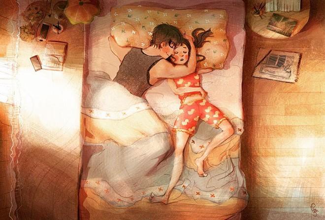 Bộ tranh: Tình yêu là khi chúng ta có thể tìm thấy ai đó đồng điệu để sẻ chia cuộc sống này - Ảnh 5.
