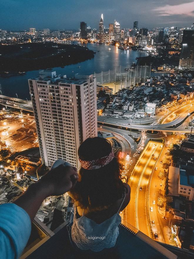 9x với loạt ảnh chụp từ trên cao khiến bạn ngỡ ngàng vì vẻ đẹp choáng ngợp của Sài Gòn - Ảnh 16.