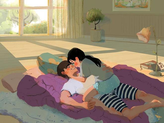 Bộ tranh: Tình yêu là khi chúng ta có thể tìm thấy ai đó đồng điệu để sẻ chia cuộc sống này - Ảnh 7.