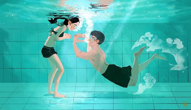 Bộ tranh: Tình yêu là khi chúng ta có thể tìm thấy ai đó đồng điệu để sẻ chia cuộc sống này - Ảnh 11.