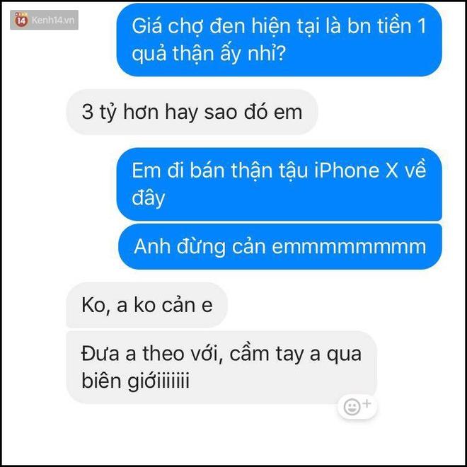 Bí kíp né thính khi cơn bão iPhone X đang hoành hành từ những anh chàng bạn trai siêu lầy lội - Ảnh 13.