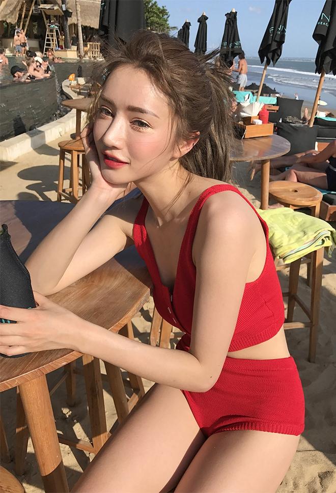 Bikini len, hot trend Hàn Quốc dành cho những cô nàng chuyên diện bikini để chụp ảnh sống ảo - Ảnh 8.