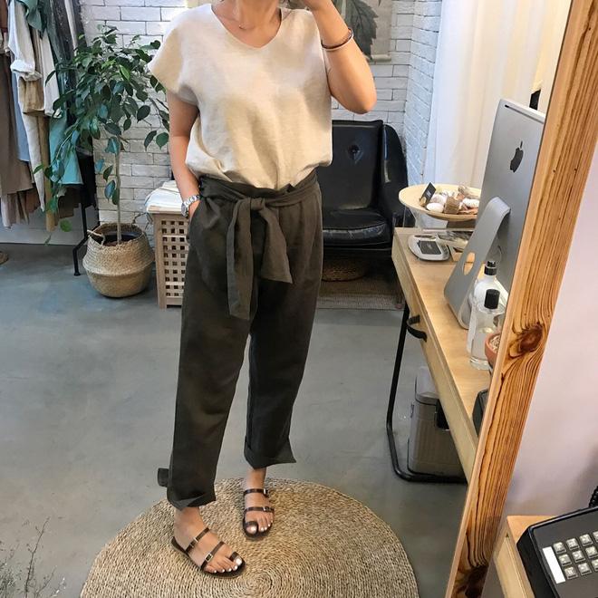 Ngay cả khi không thích quần vải, các cô nàng cũng sẽ đổ đứ đừ trước kiểu quần thắt nơ xinh xắn này - Ảnh 9.