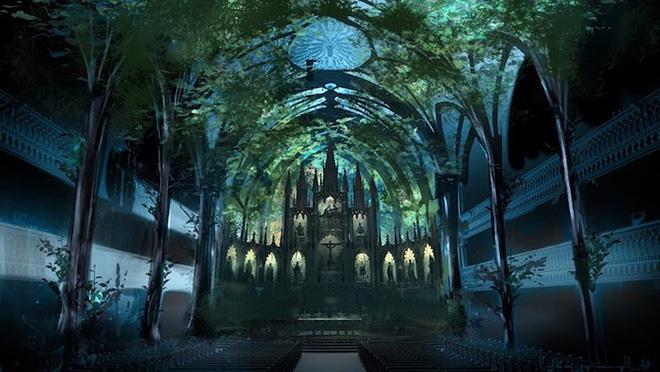 Màn trình diễn ánh sáng ngoạn mục biến nhà thờ thành xứ sở thần tiên - Ảnh 17.