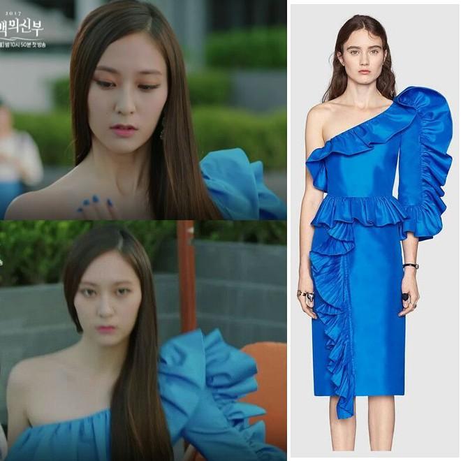 Nữ thứ Krystal toàn mặc đồ cao cấp nhưng nữ chính Shin Se Kyung chỉ diện đồ bình dân trong Cô dâu thủy thần - Ảnh 5.