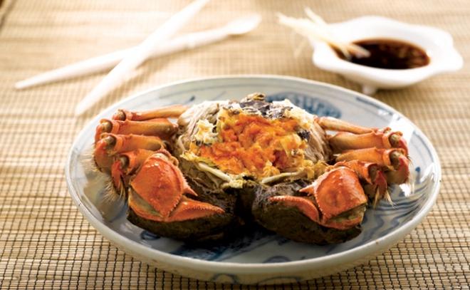 Xem cách người Thượng Hải ăn cua đặc sản của mùa này: ăn xong phải xếp lại y như ban đầu - Ảnh 3.