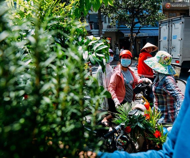 Trên đường phố Sài Gòn, có những người hàng chục năm chở theo một chợ xanh sau yên xe máy - Ảnh 7.